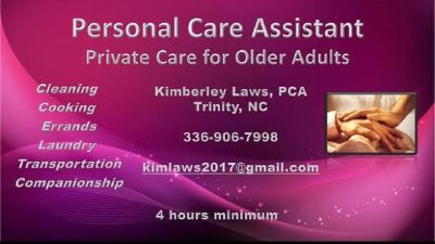 Private Care Assistant for Older Adults