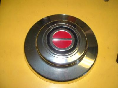 Sell 93-97 Ford Ranger Pickup Truck 14x6 Chrome Wheel Rim Center Hub Cap Red motorcycle in Tucson, Arizona, US, for US $15.00