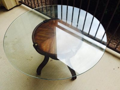 $50, Beautiful GlassWood Coffee Table