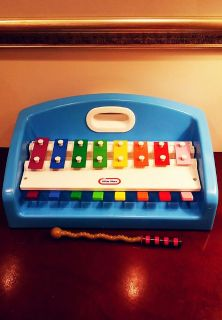 VINTAGE LITTLE TIKES TAP A TUNE XYLOPHONE PIANO MUSICAL TODDLER TOY 1985