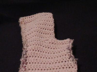 Child's Crocheted Hooded Vest