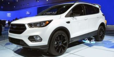2018 Ford Escape Titanium (White Platinum Metallic Tri-Coat)