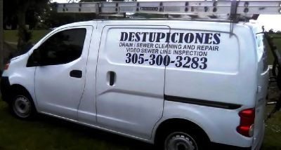 TAMARAC  DESTUPICIONES, DRAIN CLEANING  786 334 2631