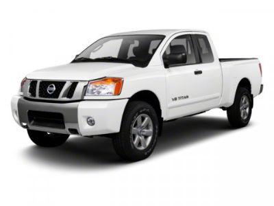 2011 Nissan Titan SE (Galaxy Black)