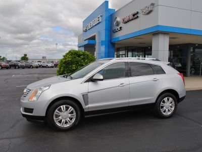 2015 Cadillac SRX Performance Collection (radiant silver metallic)