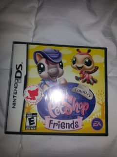 NIP Littlest Pet Shop Country Friends DS Game