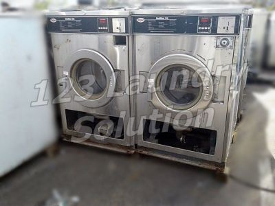 Good Condition Unimac Front Load Washer Timer Model 35LB 1PH UC35PC2 Stainless Steel AS-IS