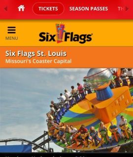 Six Flags Tickets (13 and under)