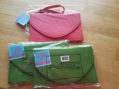 WB clutch purses