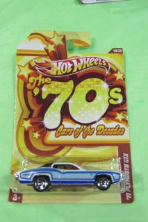 Vintage Hot Wheels Cars Of The Decades 1971 Plymouth Gtx Factory Sealed