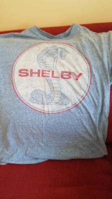 Shelby mustang tshirt sz. Medium