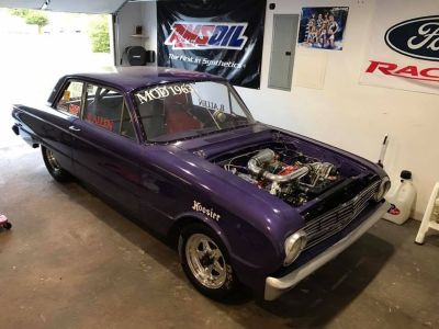 1963 Ford Falcon drag car (clean)
