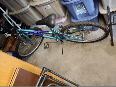 Blue Roadmaster bike 26""