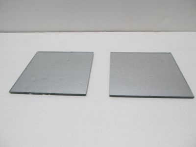 Set of 2-Square 5 Inch Mirrors $0.50 Both