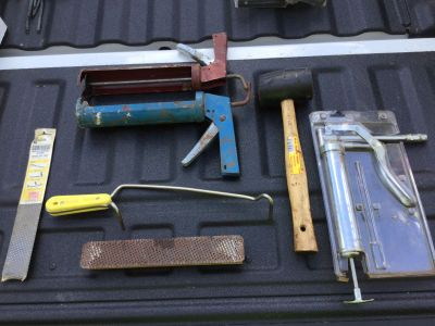 Mixed Lot Shop and Garage Tools