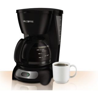NEW IOB Mr. Coffee 5 cup Mr. Coffee 5-Cup Coffeemaker, TF7 Morning Folgers