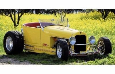 1926 Ford Model T (Yellow)