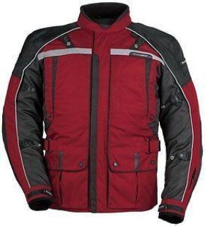 Buy Tourmaster Transition Series 3 Textile Jacket Wine/Black motorcycle in Holland, Michigan, US, for US $224.99