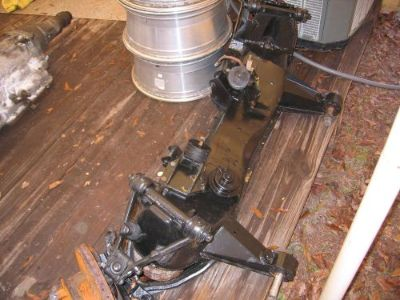 Sell front Subframe Assembly for 1971 Jaguar XJ6 includes new ball joints Motor mount motorcycle in Palatka, Florida, United States, for US $925.00