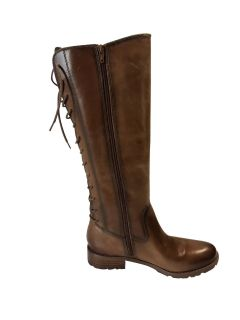 Sofft Sharnell Riding Boot Cognac Size-8.5