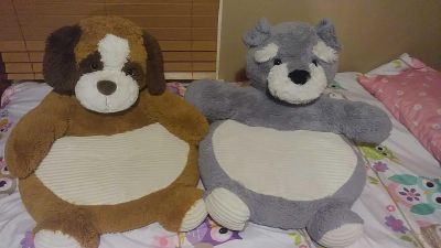 Small chair like stuffed animals both for 5.00 best for infant toddler size