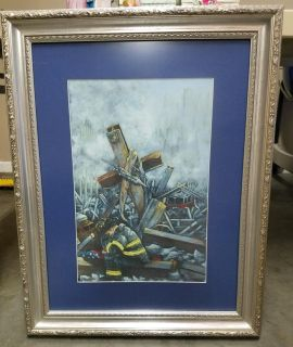 911 Framed Picture