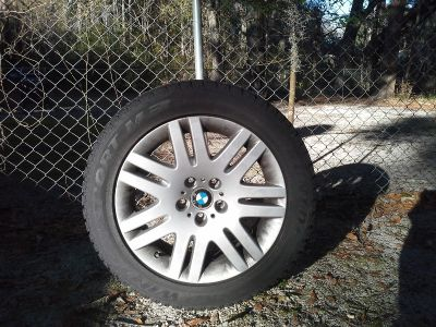 4 BMW 18 INCH Factory Rims and mounted tires