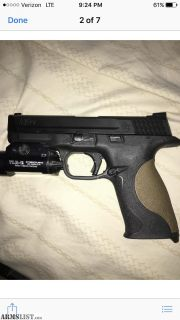 For Sale/Trade: M&P 9mm