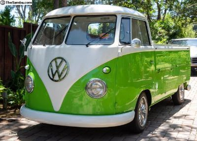 1961 VW Single Cab.cover of VW Trends mag yrs ago