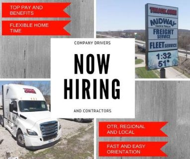 Smaller Trucking Company CDL driver