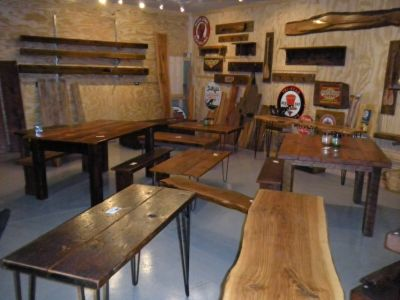 Vintage Barnwood Hand Crafted Pieces. Mantels Benches Reclaimed Wonderful Wood!