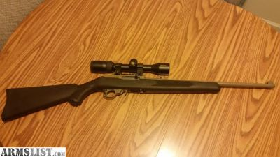 For Trade: Ruger 10/22 for marlin xt22 tube fed stainless 22lr