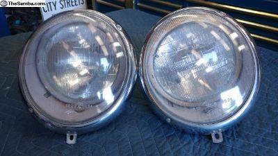 Type 2 OEM Hella Headlights