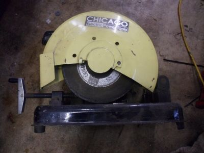 """Chicago electric power tools 14"""" cut-off saw"""