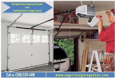 24/7 hours | Emergency Garage Door Opener Repair in Sugar Land, TX