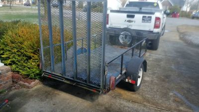 4x8 ft TRAILER with ramp