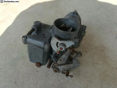 Volkswagen Carburetors, 28, 30 PICT and Webers