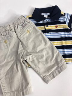 Boys dressy casual Ralph Lauren polo & Janie & jack size 9 month