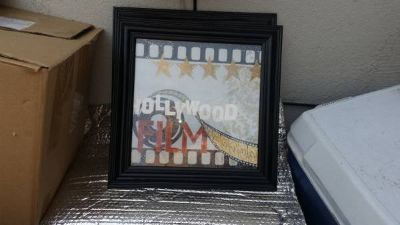Hollywood Themed Wall Hangings
