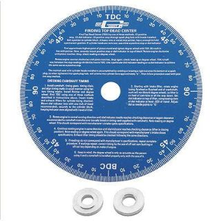 "Purchase Mr. Gasket 1570 Degree Wheel 7"" Diameter Aluminum Blue motorcycle in Suitland, Maryland, US, for US $36.83"