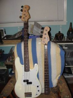 20th Anniversary Squire by Fender P Bass