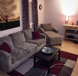 FREE Couch, chair and long oak table