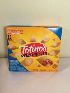 Totino s combination pizza rolls with pepperoni and sausage