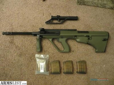 Want To Buy: Steyr AUG or MSAR