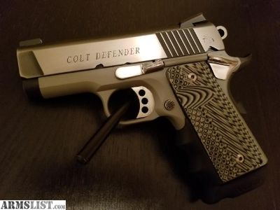 For Sale: Rare 9mm Colt Defender Lightweight