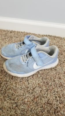 Blue Girls Nike Free