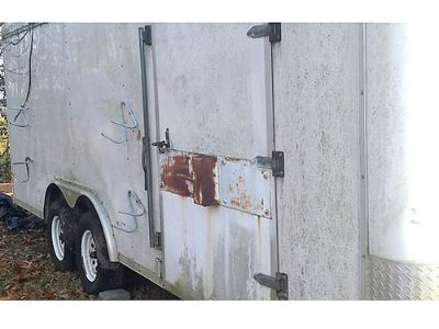 CARGO EXPRESS 8X20 ENCLOSED TRAILER, WORKBENCH & ...