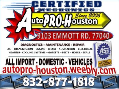 Domestic | Import | Diagnostics Maintenance Repair | Hockley TX
