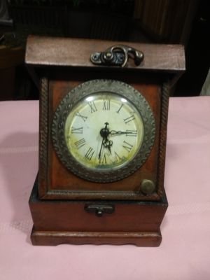 Clock in a Wooden Box