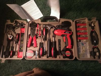 161 pcs apollo household tool kit